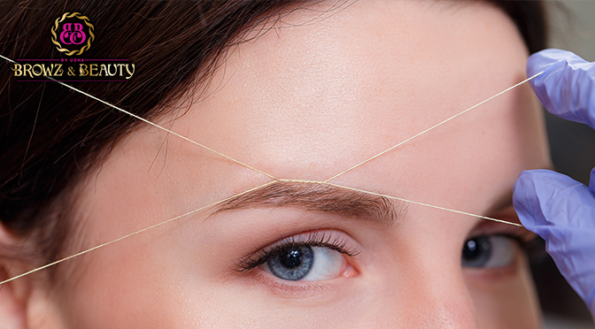 How to Make Your Skin Ready for Eyebrow Threading?